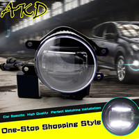 AKD Car Styling LED Fog Lamp for Toyota INNOVA DRL 2009-2014 INNOVA Daytime Running Light Fog Light Accessories
