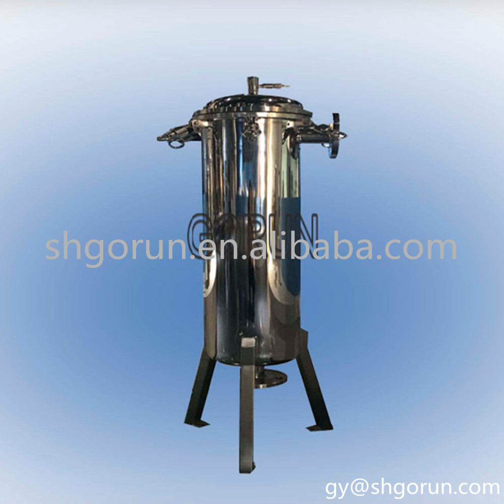 Bag filter housing wine filter machine