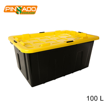 Wholesale Stackable 100L Professional Plastic Tote Bins
