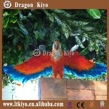 2017 realistic life size animatronic animals simulation parrot for sale