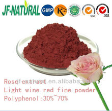 Rose extract polyphenol 30% 70% GMP manufacturer