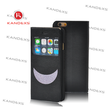 Good selling Black and raised the moon fit case for iphone