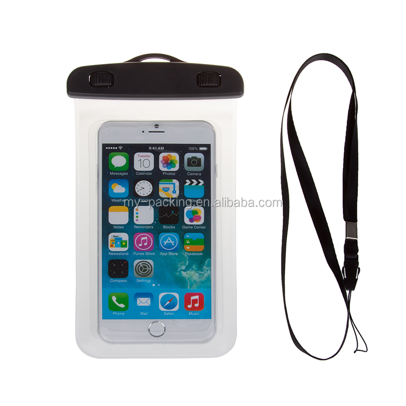 Waterproof Phone Wallet Pouch Swimming Diving Surfing Case Bag for Samsung iPhone