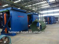 castiron melting furnace for melting steel and iron scraps from China equipment manufacturer