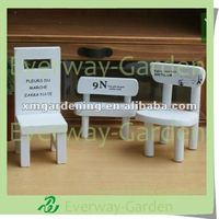 Flower Pots Display Chair