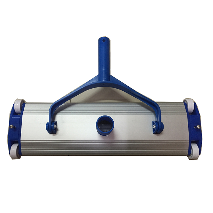 Good quality Swimming Pool Flexible Vacuum Head with wheels For In-ground Pools 45cm aluminum pool cleaning Vacuum Head