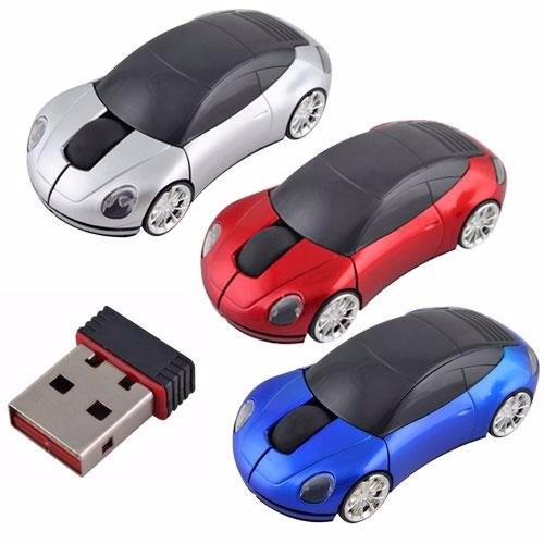 Multi Colors Fancy Racing Wireless Car Model Mouse
