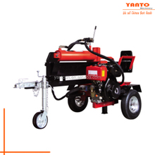 High Quality Horizontal Diesel wood screw log splitter 10HP 40T with CE certification