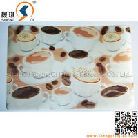 3D PP Eco-Friendly Kids Table Mats