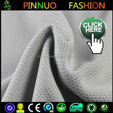 good price knit pe woven mesh fabric for sportwear