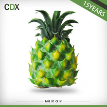 Home decoration artificial imitate pineapple plastic artificial fruits for wedding