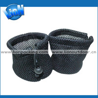 Factory custom soft mesh bag golf balls pouch, potato bag