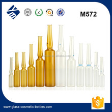 Wholesale Amber Clear Glass Ampoule Vials 1ml 2ml for injection