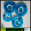 blue color disposable bowl covers elastic pe covers