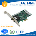 LR-LINK LREC9020PF PCIe X1 100FX ST Port Network Interface Card
