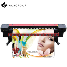 Large format eco solvent outdoor printer a0 size with automatic taken - up system