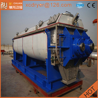 nickel sludge dryer,hollow paddle dryer