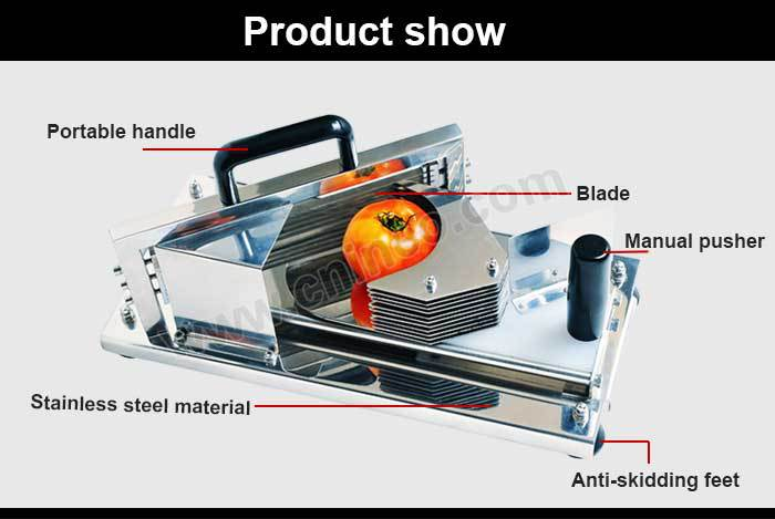 Stainless Steel Manual Fruit Cutter Or Tomato Cutter(INEO are professional on commercial kitchen project)
