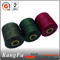 2013 chinese hot sale 1mm, 16s waxed polyester thread for shoe sewing