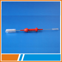 FDA certified disposable endoscopic color cleaning brush of instrument surgical