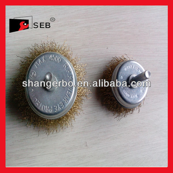 professional facory to produce shaft wheel knot wheel steel wire brush