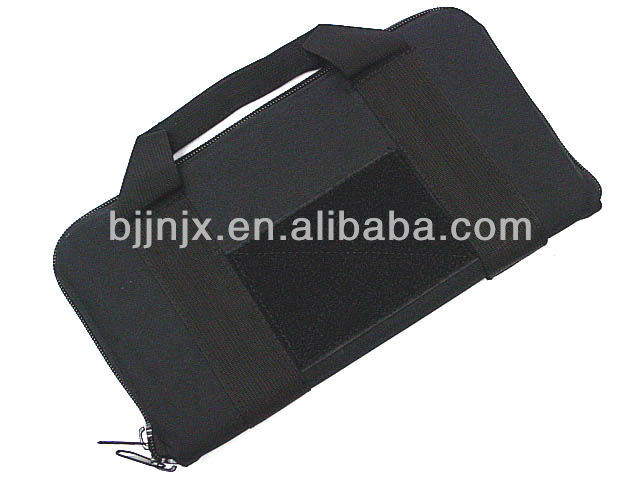 Military black Cordura nylon Gun bag for 16 inches gun