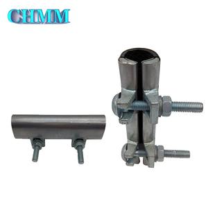 Popular Top Quality Emergency Water Pipeline Repair Two Holes Stainless Steel Pipe Clamp