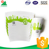 Disposable ice cream paper cup and lid,paper cup for ice cream