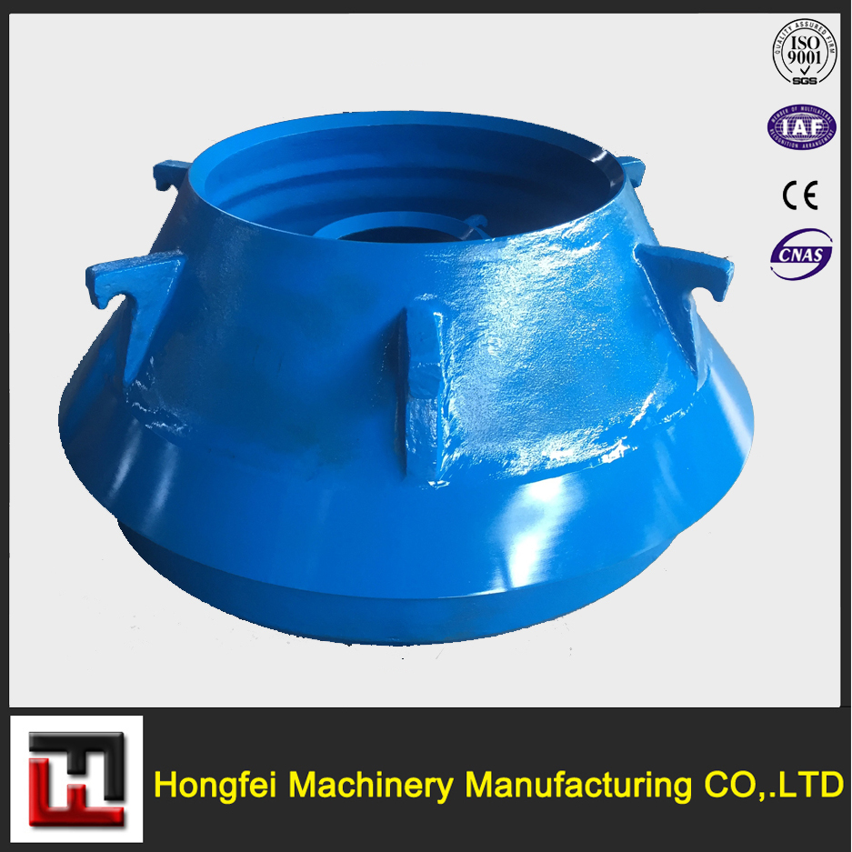 high manganese steel casting cone crusher part, bowl liner,concave and mantle