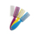 TSZS brand wholesale custom logo nail tool plastic handle Nail Cleaning Brush