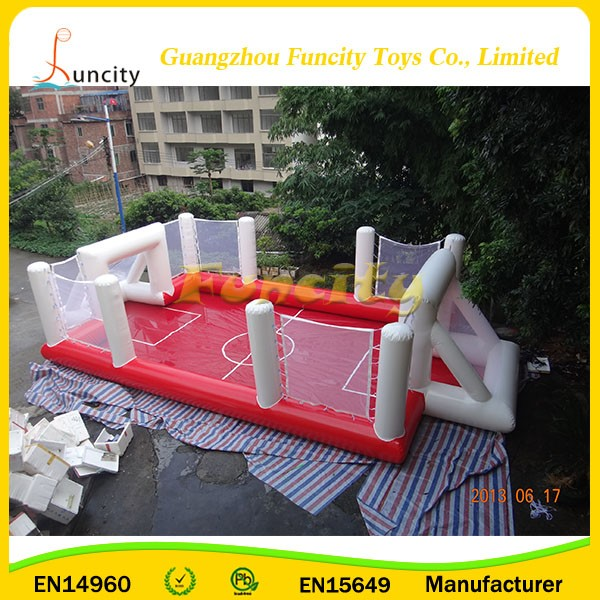 hot Selling PVC Material attractive Cheap Price big inflatable football arena