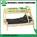 ( WJZ-B12 ) solid pine wood triple bunk bed