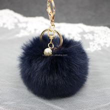 Fashion Pom Pom keychain car pendant handbag accessories handbag accessories Wholesale NSK--0002