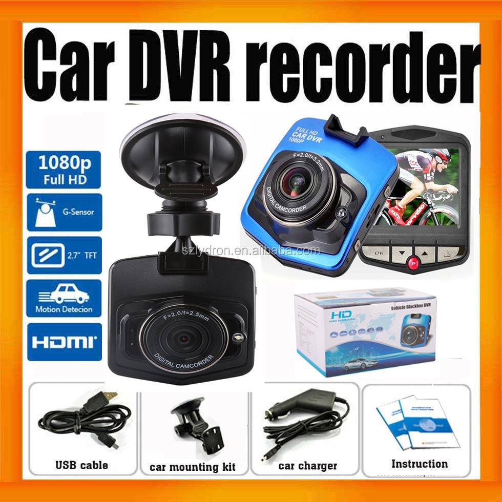 Hottest 1080P HD In Car Cam With HDMI output Blue and Black <strong>Color</strong>