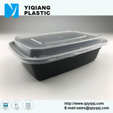1 compartment pp clear eco-friendly disposable food plastic storage containers