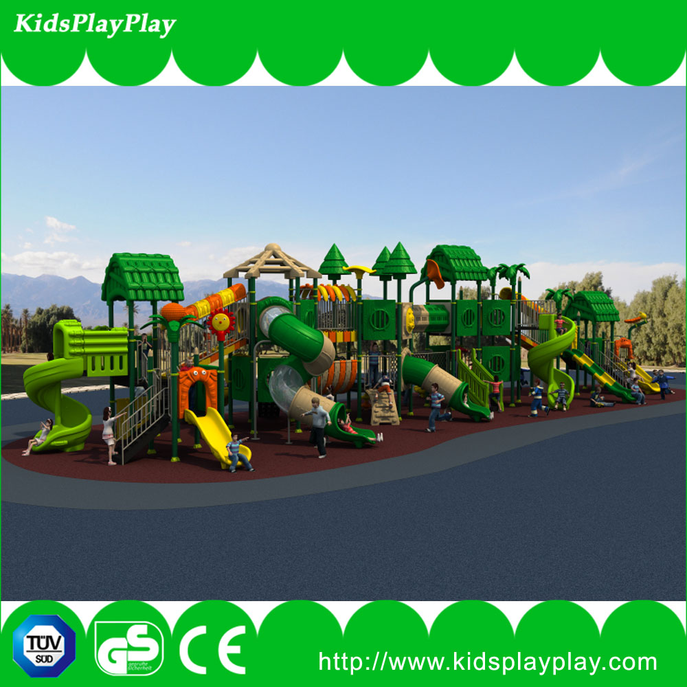 kids outdoor playground equipment with Aluminum galvanized steel pipe