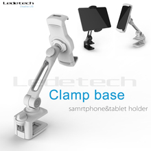 Aluminum Material and No Charger 360 Rotating Adjustable Lazy Stand Tablet PC Cell Phone Holder for Desk Tablet PC