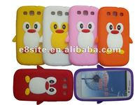 Penguin Design Cell Phone Silicone Case Cover For SamSung Galaxy S3 i9300