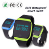 Touch Screen waterproof E07S mobile watch phones bluetooth smart watch for android and IOS phone