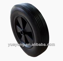 8x1.75 cart wheel solid rubber tires