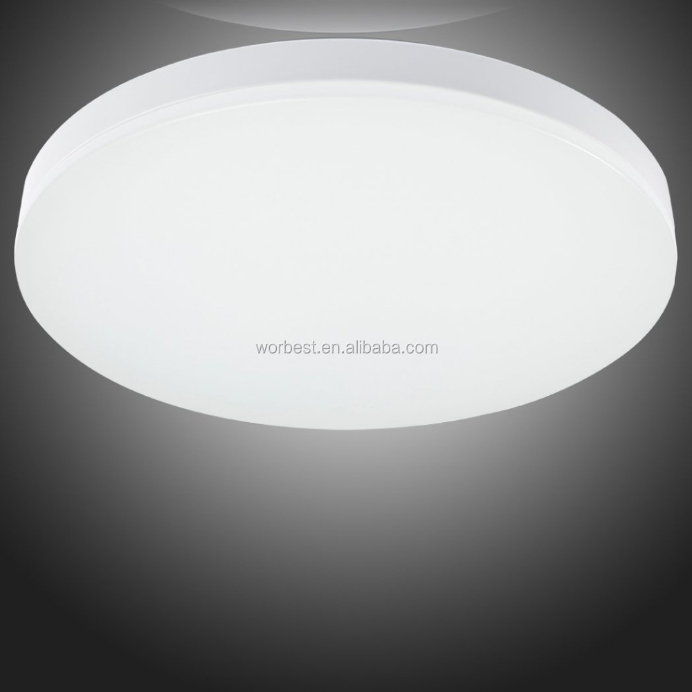 LED Flush Mount Ceiling Light Fitting for Living Room, bathroom, bedroom, And Dining Room with 2700k Color Temperature