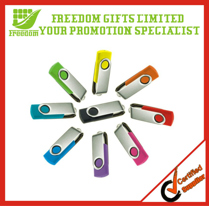 Promotional Wholesale Swivel USB Flash Drive