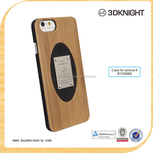 Fashion Design Hot Sale Real Wood for iPhone 6 Case, For iPhone 6 Case Wooden custom logo