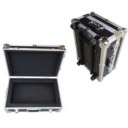 Custom Trolley Case Aluminum Tool Kit Laptop Box With wheels MLD-AC3659