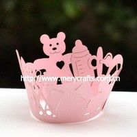 cupcake baking cups wrappers for baby shower