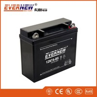 Black 12V7Ah 12N7B-BS Gel Type Lead Acid Motorcycle Battery