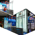 Detian Offer 6x9m stand banner trade fair display booth exhibition stand for exhibition equipment