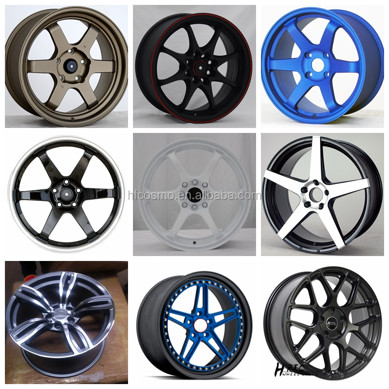 15 16 17 18 inch car wheel rim 2016 new brand car alloy wheel rim for sale 15x7 15x8 16x7/8 17x8.5 17x10 18x8