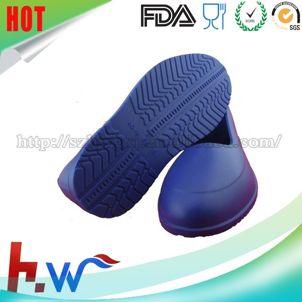 Non-slip Waterproof Silicone Shoes Cover/Silicone Galoshes Overshoes