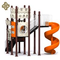 Manufacturer Sale Super Quality Lldpe Tower Kids Used Metal Playground Slides For Sale